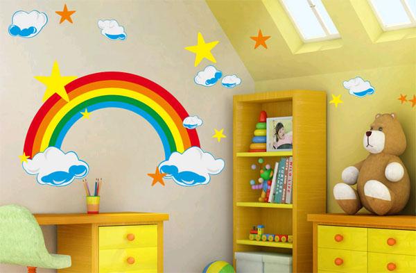 Росписи стен для детской комнаты