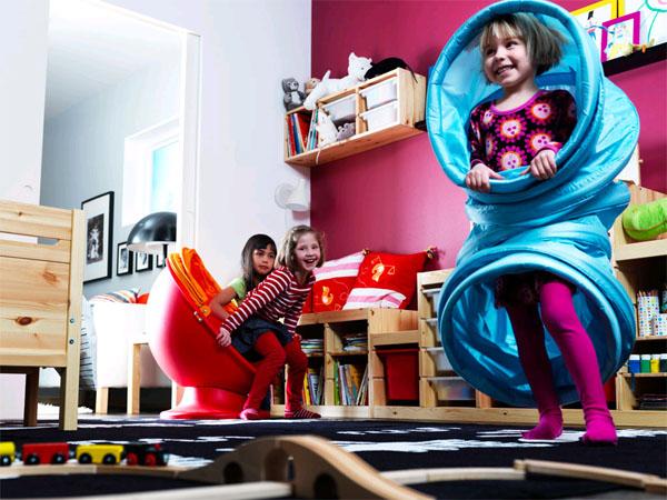 Детская комната: место для игр и развития