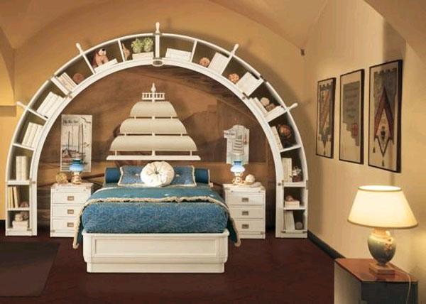 Морской стиль в интерьере квартиры