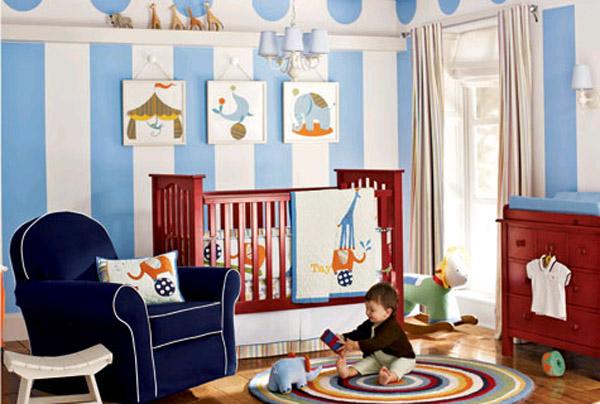 Дизайн интерьера детской для мальчика