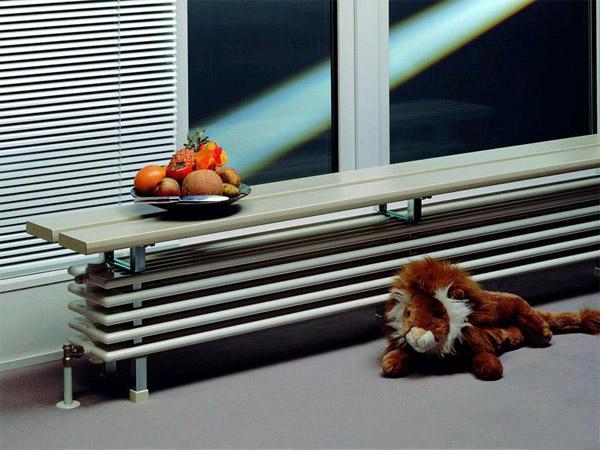 Радиаторы отопления в дизайне интерьера