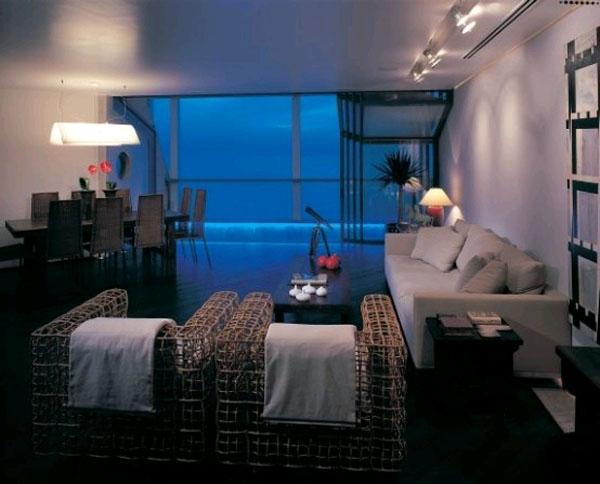 Квартира под водой