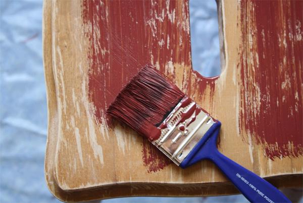 Как сделать кракелюры на мебели 47