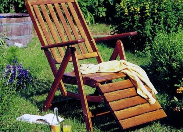 Шезлонги для дачи: удобная мебель для спокойного отдыха