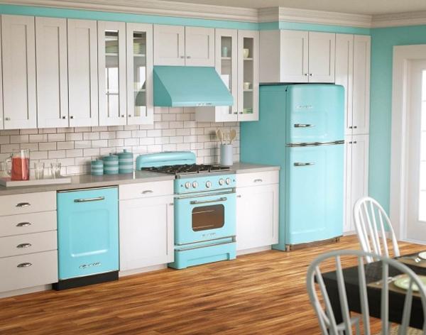 Винтажный стиль на кухне