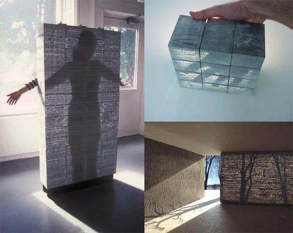 Прозрачный бетон: новые свойства привычного материала