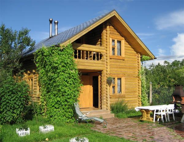 Деревянный дом для дачи: доступно, быстро, удобно