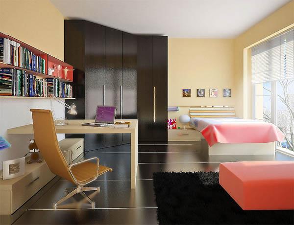 Интерьер комнаты студента: первые шаги во взрослую жизнь