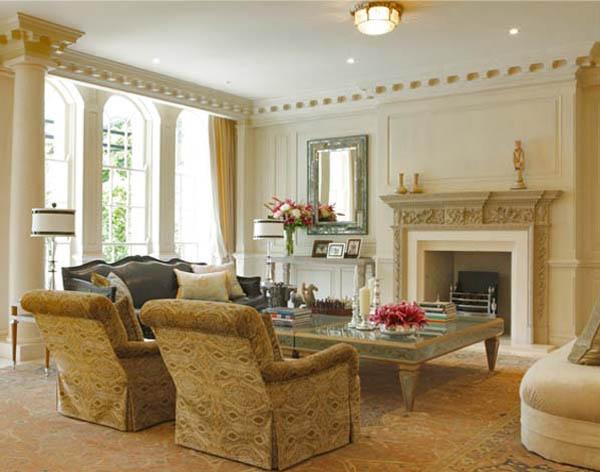 Дизайн интерьера в классическом стиле: особенности и достоинства