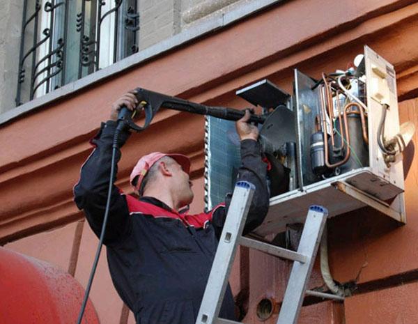 Сервисное обслуживание кондиционеров: основные виды работ