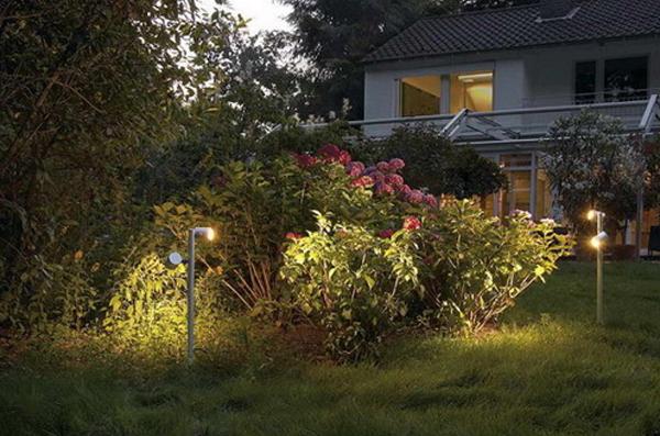 Уличные светодиодные прожекторы и модули для освещения участка