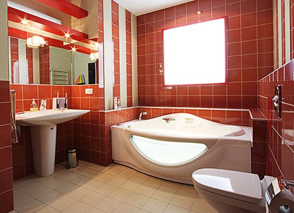 Выбираем светильники для ванных комнат