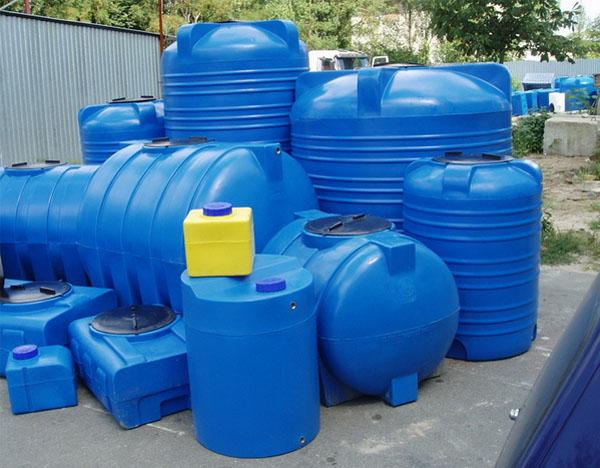 Выбираем баки и емкости для воды