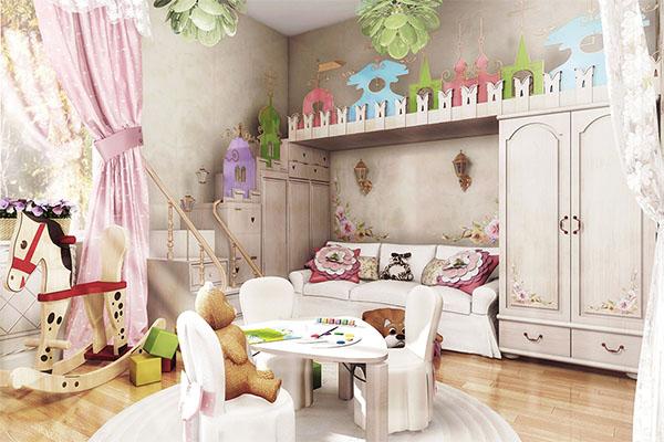 Интерьер комнаты девочки: важные моменты