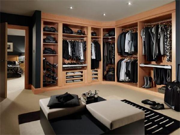 Выбираем мебель для гардеробной комнаты
