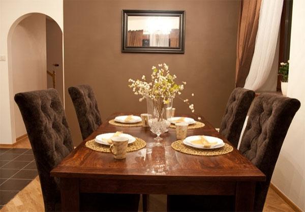 Интерьер столовой: выбираем подходящую отделку и мебель
