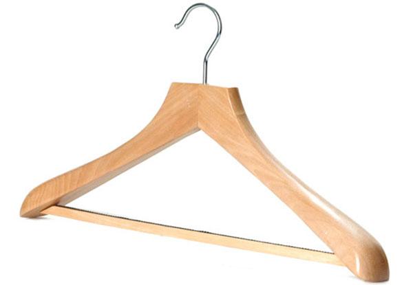 Выбираем вешалки для верхней одежды