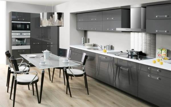 Мебель для кухни на заказ: особенности конструкции, характеристики материалов