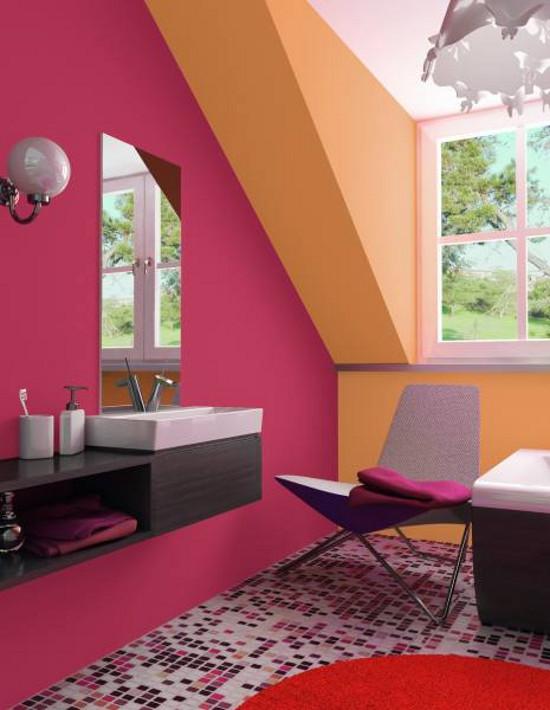 Стильный интерьер в ванной: какой цвет выбрать?
