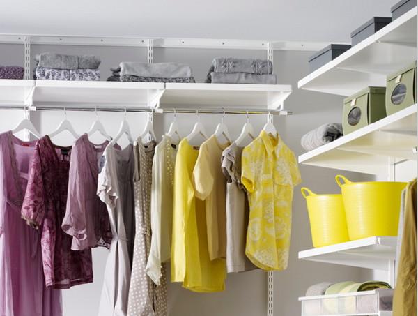 Как обустроить гардеробную комнату: несколько рекомендаций
