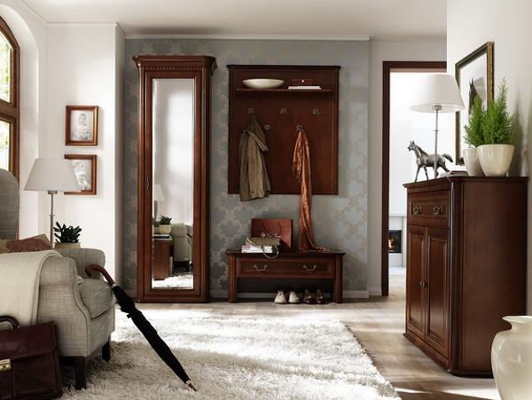 Прихожая в классическом стиле: выбираем мебель