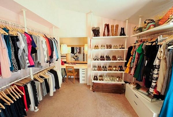 Оборудование гардеробной: правила и рекомендации