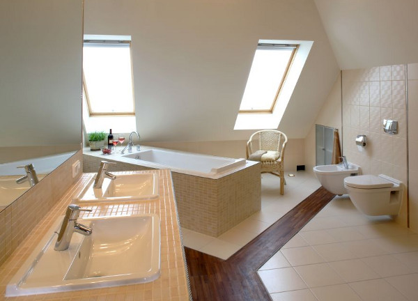дизайн ванной в частном доме фото