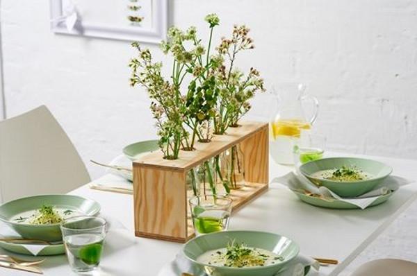 Оригинальная деревянная ваза своими руками