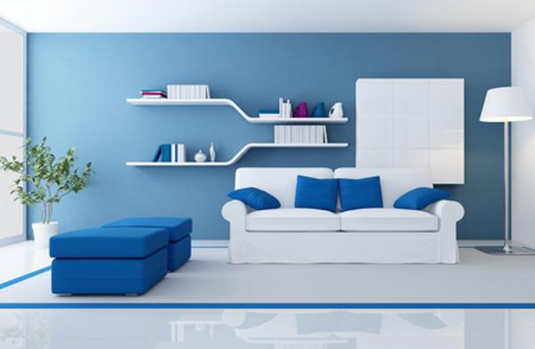 Голубой цвет в интерьере: продлите лето в своей квартире