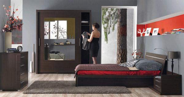 Расстановка мебели в спальне