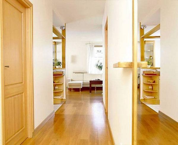 Особенности дизайна узкого и длинного коридора
