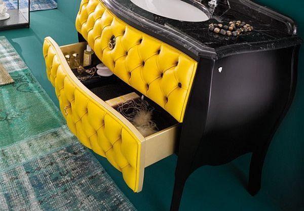 Кожаная мебель для ванной