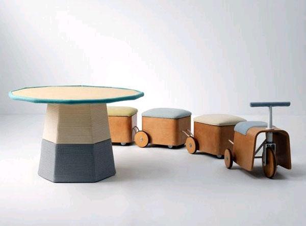 Веселая мебель для детей