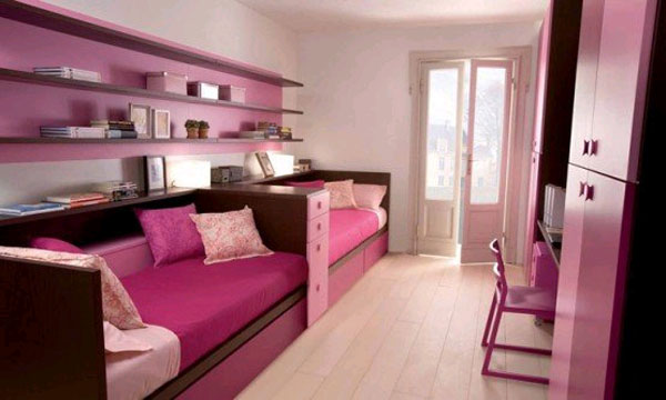 Выбираем мебель для детской комнаты для двоих детей