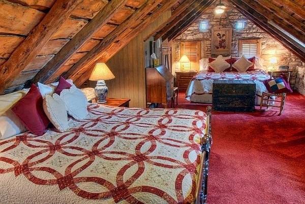 Спальня в стиле кантри: уют деревенского дома в городской квартире
