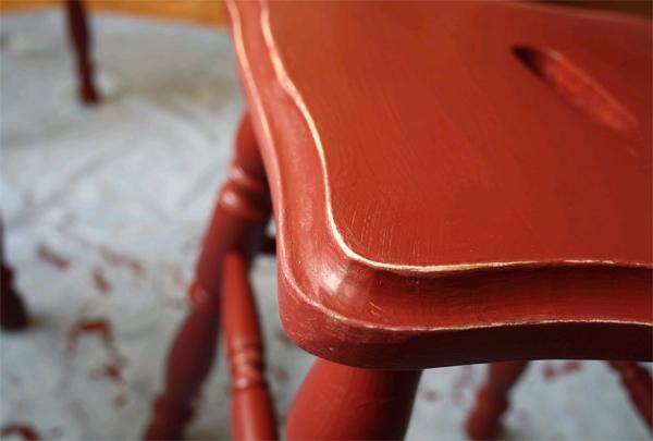 Покраска старой мебели своими руками