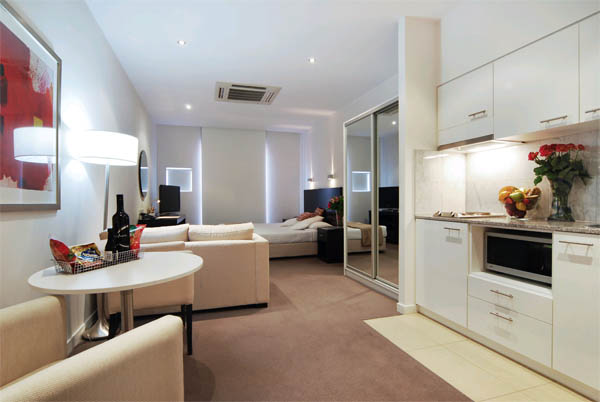 Дизайн интерьера квартиры-студии: пространство свободы