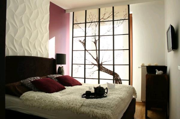 Дизайн спальни в японском стиле: продуманная утонченность