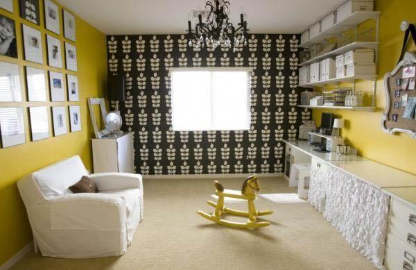 Особенности интерьера в желтом цвете