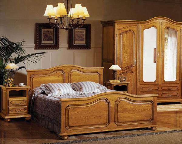 Кровать из массива дерева: преимущества натуральной древесины