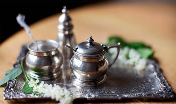 Столовое серебро – символ достатка в доме