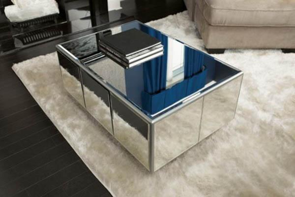 Модный зеркальный столик своими руками