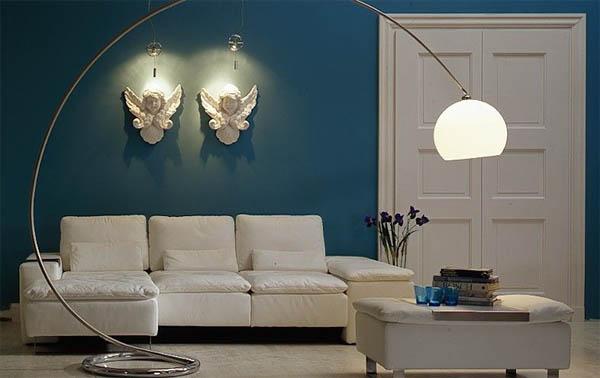 Белая мебель в гостиной: элегантность чистоты