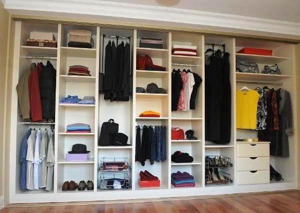 Внутренняя комплектация систем хранения (шкафов-купе, гардеробных)