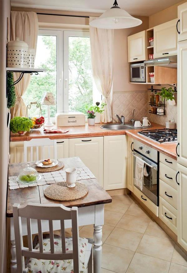 Мебель для маленькой кухни: творческий подход к эргономике