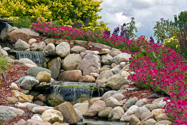 Альпинарий - каменный сад у Вас дома