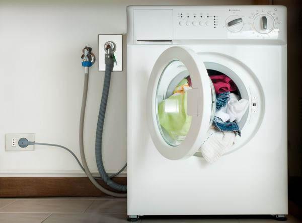 Подключение стиральной машины на кухне