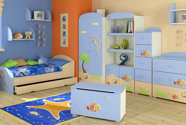 Обустройство детской комнаты: выбираем мебель