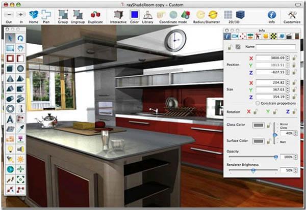 Программы 3D визуализации интерьера: от профессиональных до любительских