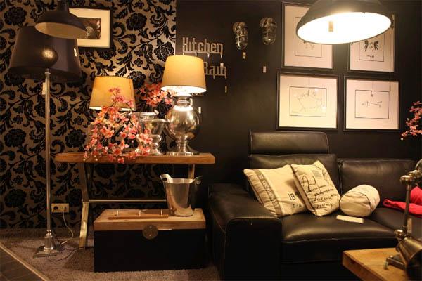 Кожаный диван в интерьере: разнообразие форм и стилей